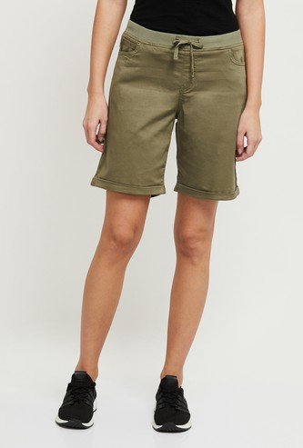 MAX Solid Elasticated Woven Shorts