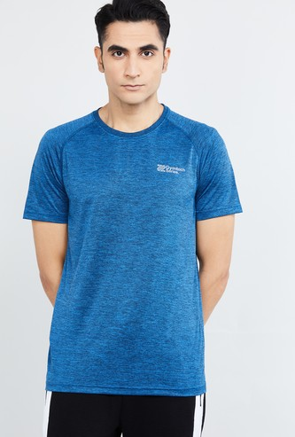 MAX Textured Crew Neck T-shirt