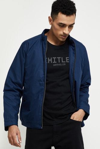 MAX Solid Zip-Closure Jacket
