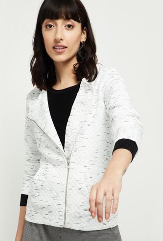 MAX Textured Full-Sleeves Jacket