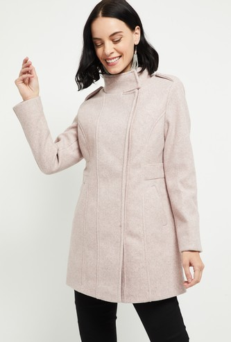 MAX Textured Jacket with Insert Pockets