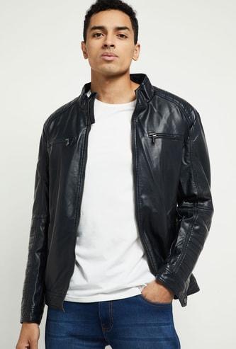 MAX Solid Biker Jacket