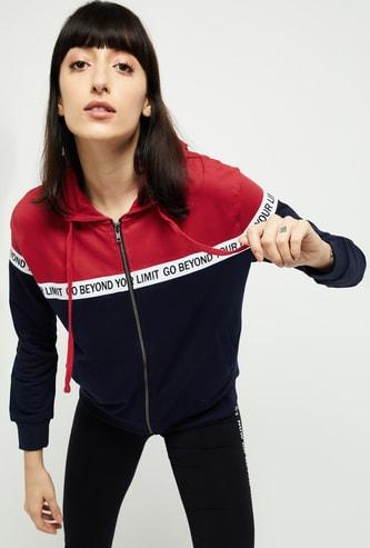 MAX Colorblocked Hooded Sweatshirt