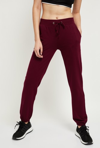 MAX Solid Joggers with Scoop Pockets
