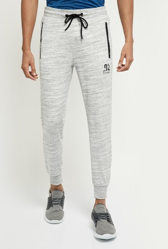 MAX Textured Joggers with Insert Pockets