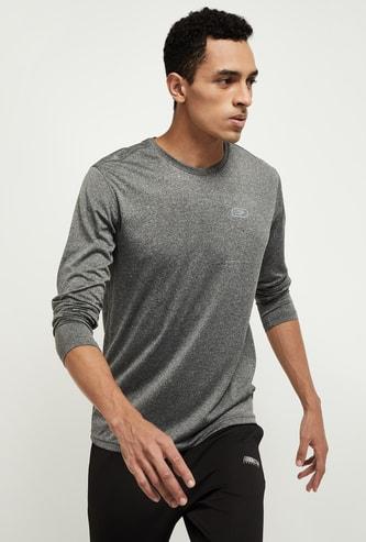 MAX Solid Full Sleeves Training T-shirt