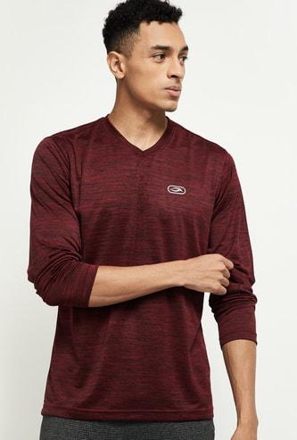 MAX Textured V-neck Lounge T-shirt