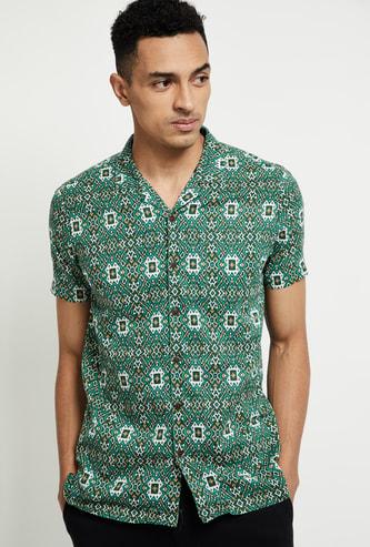 MAX Printed Collared Shirt Kurta