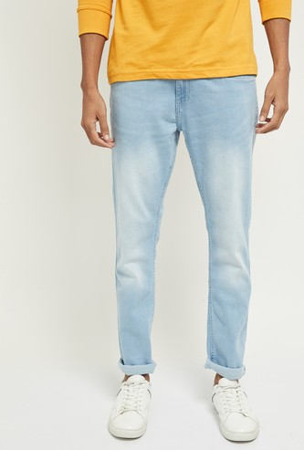 MAX Lightly Washed Slim Fit Jeans