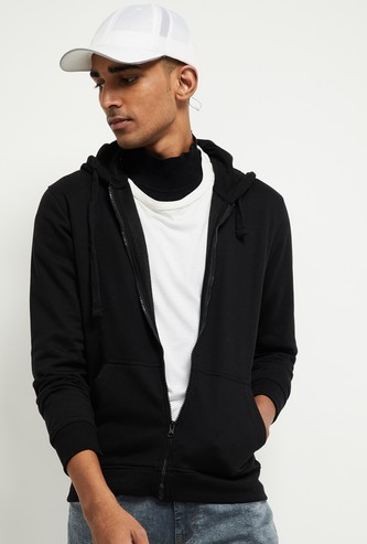 MAX Solid Hooded Sweatshirt