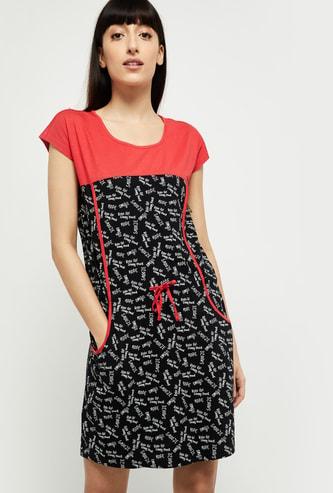 MAX Printed Lounge Dress