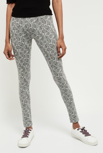 MAX Printed Knitted Leggings