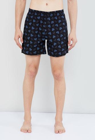 MAX Printed Elasticated Boxer Shorts