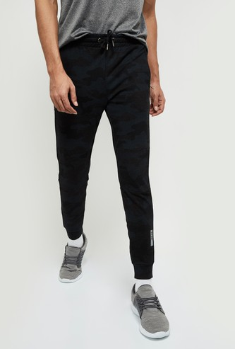 MAX Camouflage Print Joggers with zip Pockets