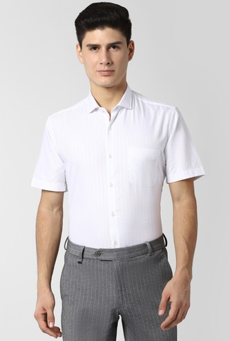 PETER ENGLAND Striped Nuvo Fit Formal Shirt