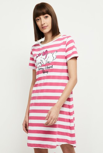 MAX Striped Short Sleeves Chemise