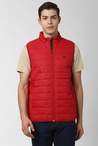 PETER ENGLAND Solid Puffer Jacket