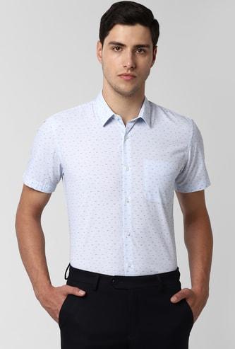 PETER ENGLAND Printed Slim Fit Formal Shirt