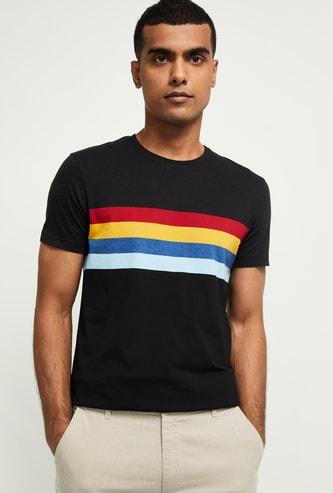 MAX Striped Slim Fit Crew Neck T-shirt