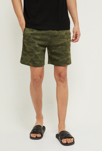 MAX Camouflage Printed Lounge Shorts