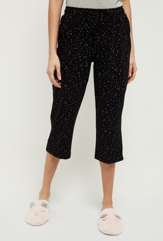 MAX Lounge Capris with Star Prints