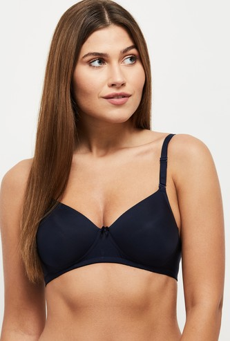 MAX Solid Padded Non Wired Bra
