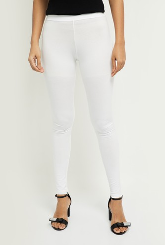 MAX Solid Full-Length Leggings
