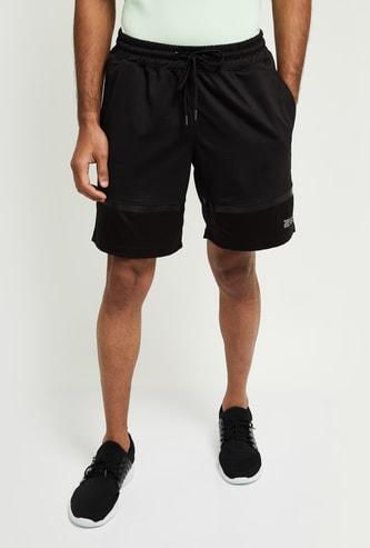 MAX Typographic Print Knit Bottom Shorts