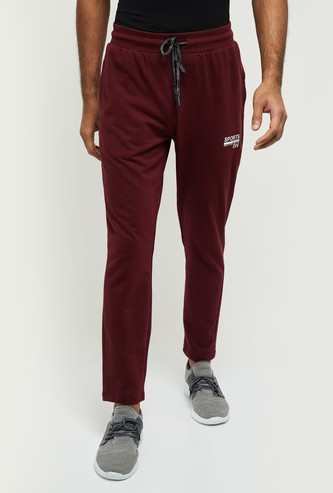 MAX Solid Full-Length Track Pants