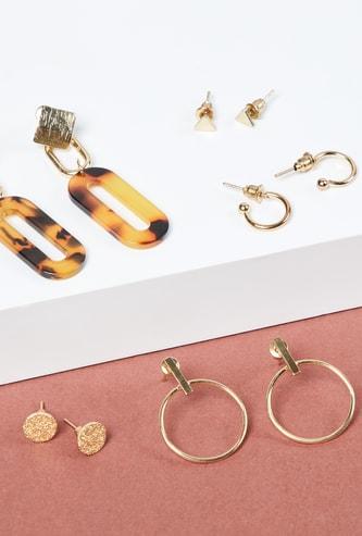 MAX Fashion Earrings- Set of 6 Pairs
