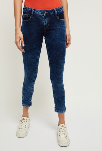 MAX Washed Skinny Fit Jeans