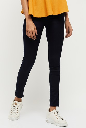 MAX Solid Full-Length Jeggings