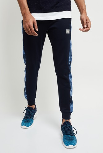 MAX Placement Camouflage Printed Elasticated Joggers