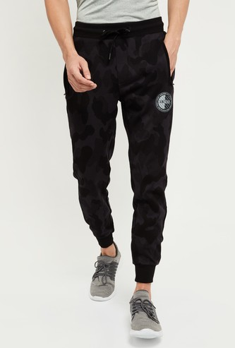 MAX Camouflage Printed Full Length Joggers
