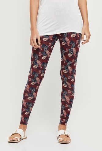 MAX Printed Full-Length Leggings