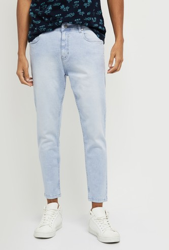 MAX Light-Washed Carrot Fit Jeans - Eco Wash