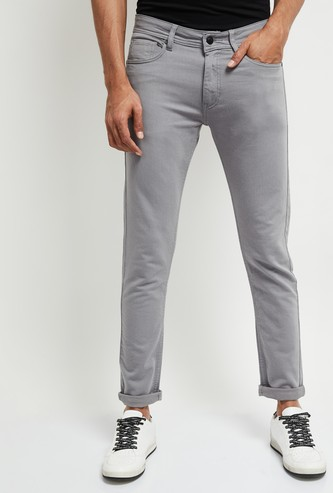 MAX Lightly Faded Organic Cotton Slim Fit Jeans
