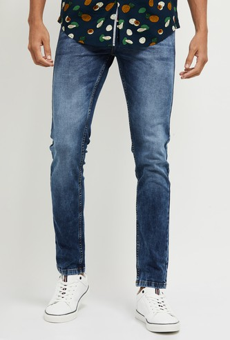 MAX Faded Skinny Fit Jeans