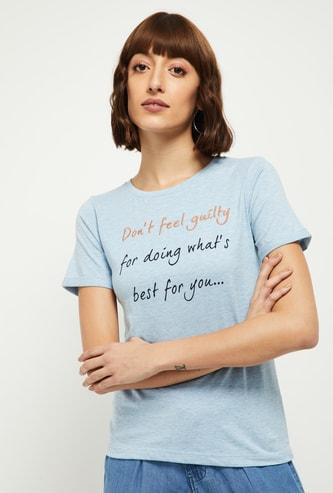 MAX Printed Round T-shirt
