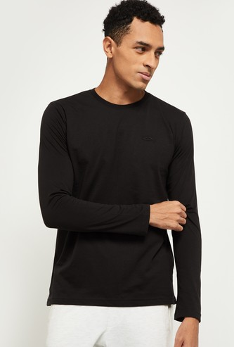 MAX Solid Full Sleeves Lounge T-shirt