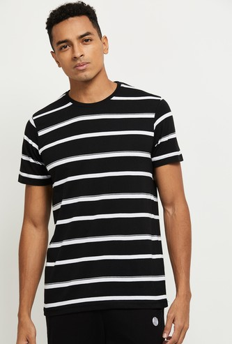 MAX Striped Regular Fit Crew Neck T-shirt