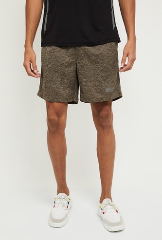 MAX Solid Slim Fit Shorts