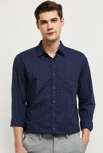 MAX Printed Smart Casual Shirt