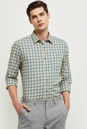 MAX Checked Smart Fit Casual Shirt