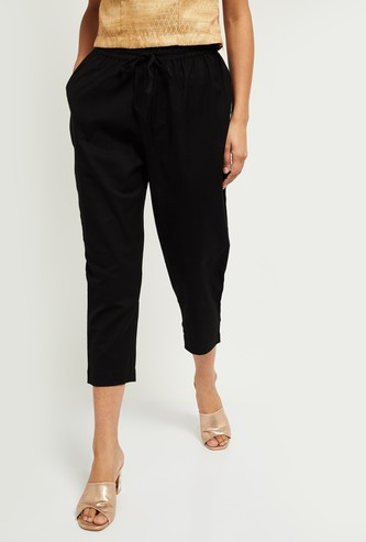 MAX Solid Straight Pants