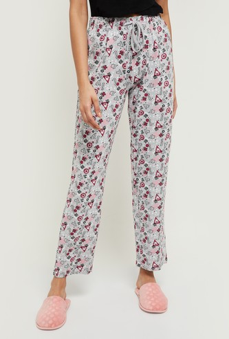 MAX Geometric Printed Elasticated Pyjamas