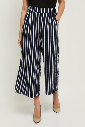 MAX Striped Parallel Pants