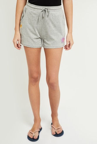 MAX Solid Lounge Elasticated Shorts