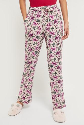 MAX Floral Printed Elasticated Lounge Pants