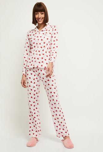 MAX Printed Top and Pyjamas